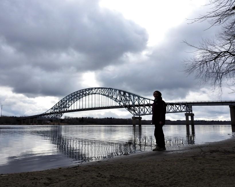 Burton Bridge over the Saint John River