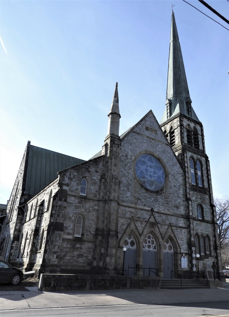 St Paul;s United Church, Fredericton. A National Historic Site