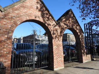 Industrial Arches of the old Tannery Gate