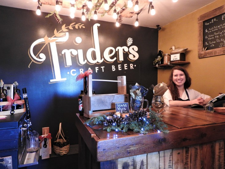 Truders craft brewert Amherst NS Ashley