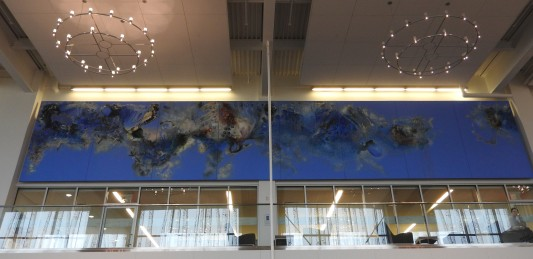 Clouds by Deanna Musgraves In the Hans W. Klohn Commons at the University of New Brunswick Saint