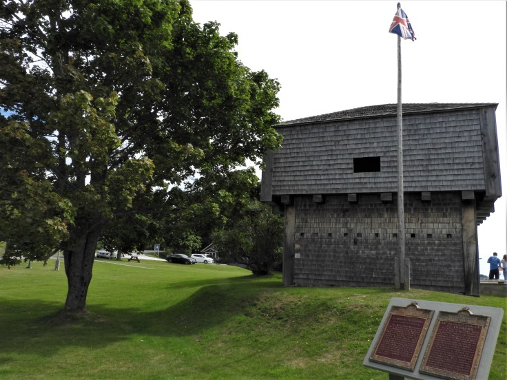 St Andrew's blockhouse National Historic Site