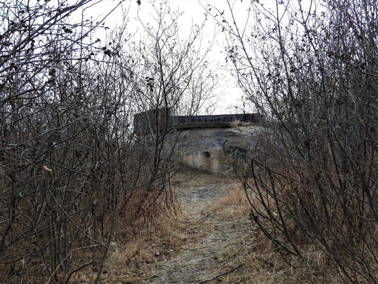 Remnants of Fort Dufferin