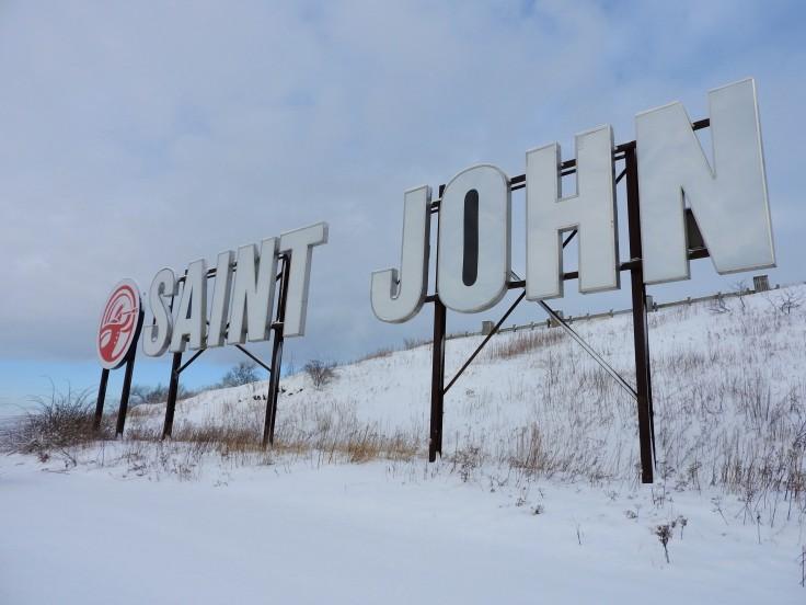 Saint John Sign