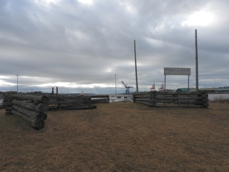 Fort La Tour locations replica display