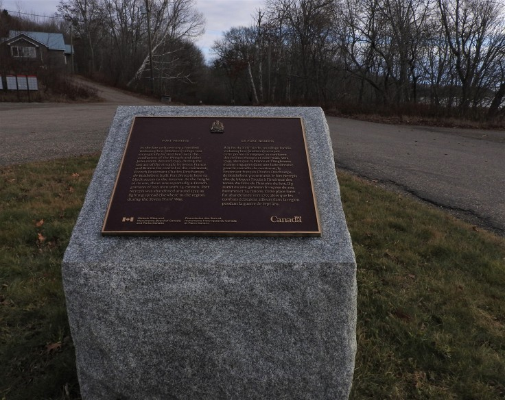 Fort Nerepsis, Hwy 102 NHSM