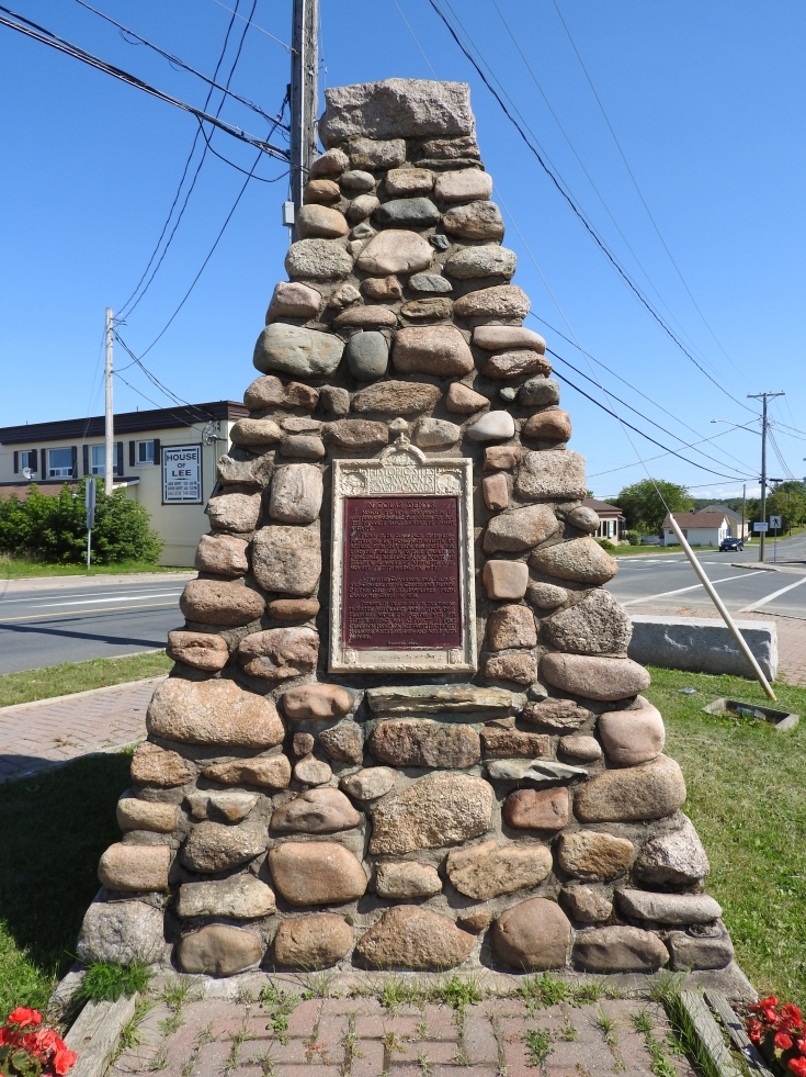 Nicholas Deny, National Historic Site Monument
