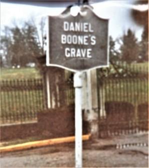 Daniel Boone's Grave