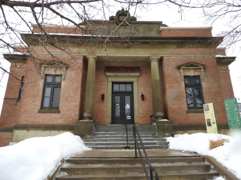 LP Fisher Public Library Woodstock NB