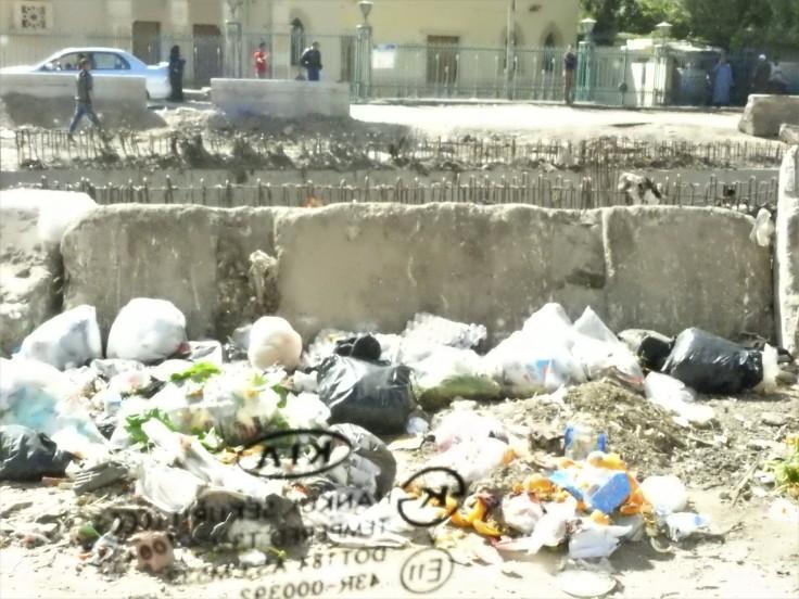 Street litter Cairo
