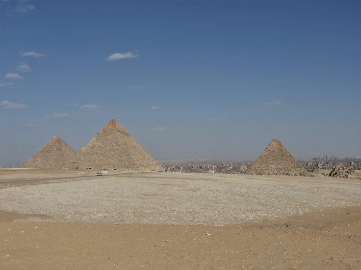 The three Pyramids
