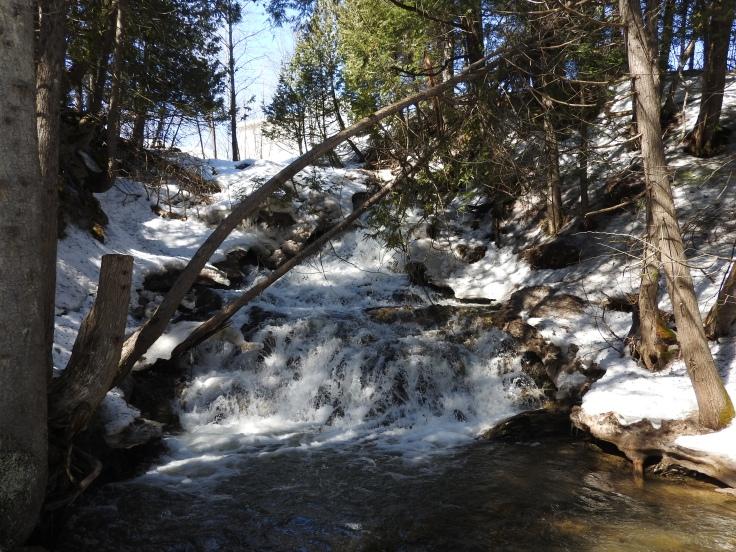 Upham Brook Falls