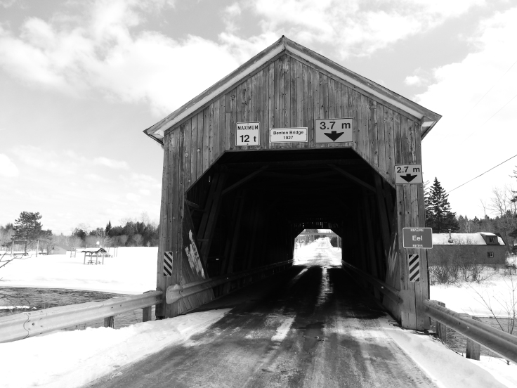 Benton covered Bridge over Eel River,