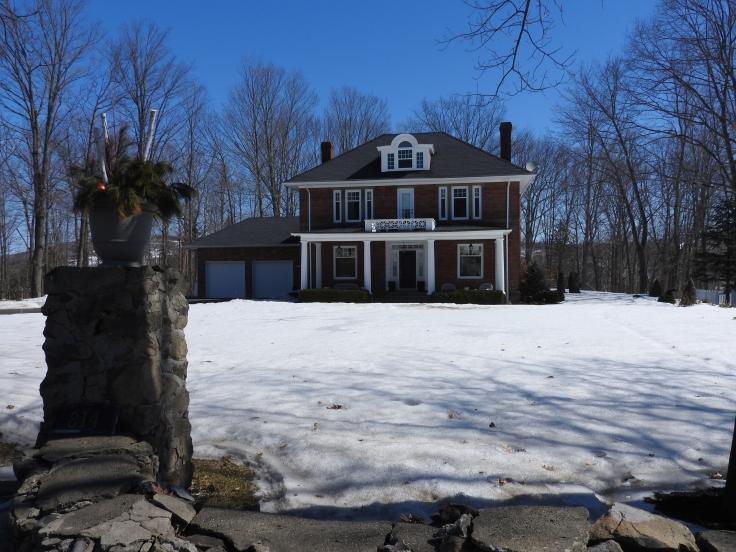 George Frederick Clark home. Woodstock, NB