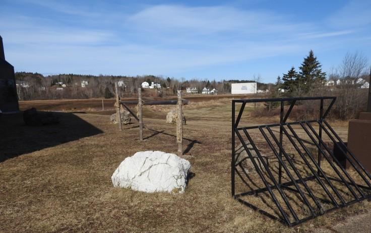 hiking post and bike racks, Fundy geological museum