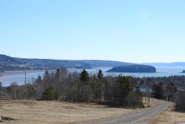 A view to Five Islands from Gilbert road, parrsboro, Nova Scotia