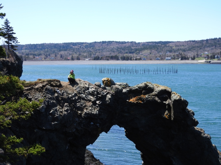 Hole in the wall, Grand Manan Island, New Brunswick