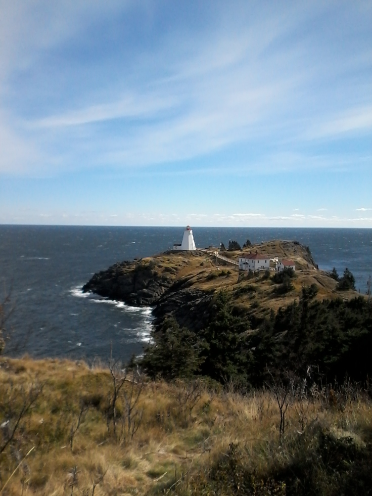 Grand Manan Swallowtail lighthouse