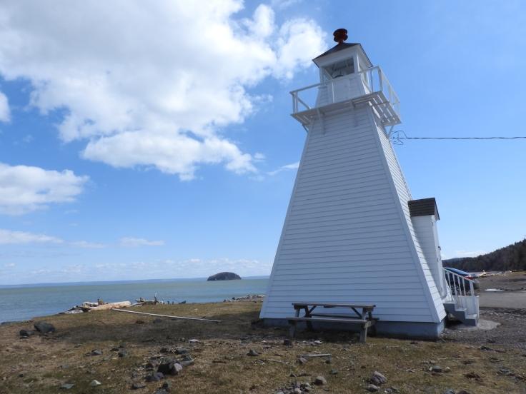 Spencer Island lighthouse