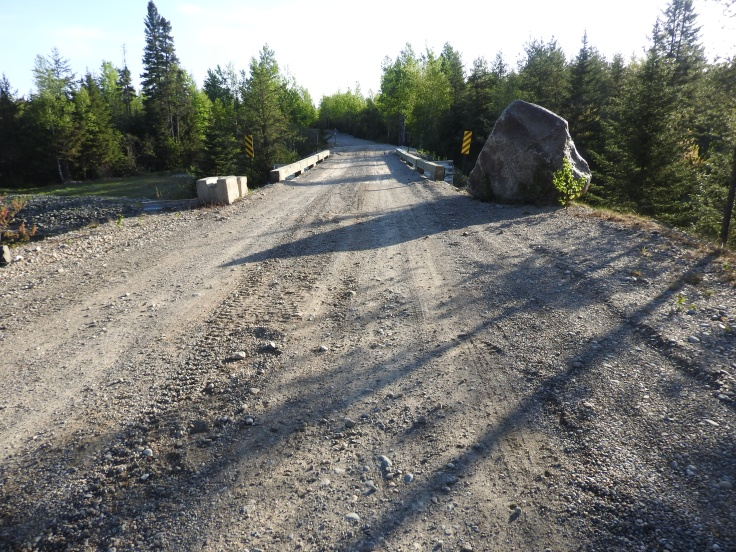 quarry road, and solid bridge