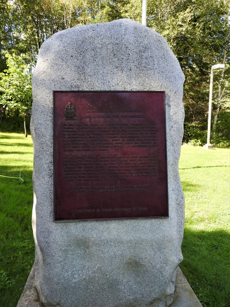 National Historic site Monument Battle of Restigouche