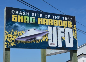 Crash site of the 1967 Shag Harbour UFO